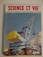 SCIENCE ET VIE 409 10/51 gomme laque engins de chantier graphologie
