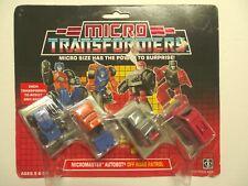 1989 G1 Micro Transformers Figures Off Road Patrol Vintage