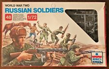 ERTL #203 - WWII Russian Soldiers - 1/72 Model Soliders - MIB!!!