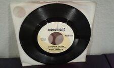 Invisible Tears / Thinking 'Bout You Babe        Billy Walker      45 RPM Record