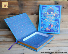 Hollow Book Safe - Aladdin and the Arabian Nights - Leather Bound Book Safe