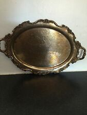 Silver Plate Serving Tea Tray