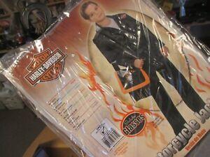 Motorcycle Jacket Harley Davidson Halloween Costume Boy Rubies 883274 youth 4-6