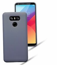 Genuine LG G6 Case Slim Rugged Protective TPU Flexible Gel Tech Rock Cover Grey