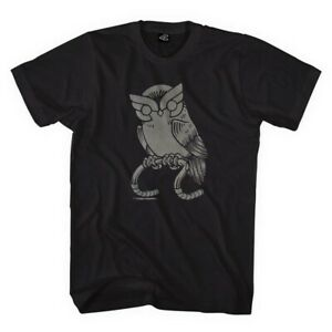 NEW OFFICIAL Cinelli Who Wants to Ride Owl Black Cycling Cotton TShirt