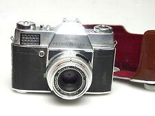 Kodak Retina Reflex S + Schneider Retina Xenar 50mm / 2.8