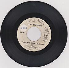 CHI COLTRANE - THUNDER AND LIGHTNING (MONO-STEREO) - RARE DJ COPY 45 RPM - 1972