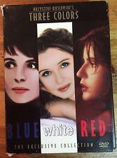 Three Colors Trilogy (DVD, 2003, 3-Disc Set)