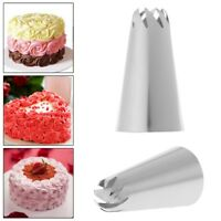 Stainless Steel Flower Icing Piping Nozzles Cake Decoration Tips Baking Tools