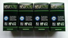 KTM 450 EXC-F Six Days2017 HiFlo Oil Filter (HF652) x4 Pack