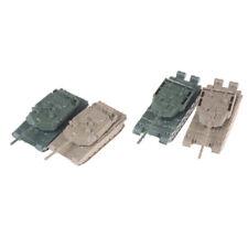 New 4D Mini MORDEN US M1A2 TANK AND CHINA 99A TANK no box 1/144 UK