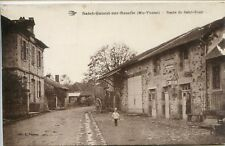 CP 87 Haute-Vienne - Saint-Genest-sur-Roselle - Route de Saint-Bonnet