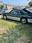 1992 Ford Mustang GT 1992 Ford Mustang Hatchback Green RWD Manual GT