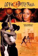 LOVE AND BASKETBALL Movie POSTER C 27x40 Omar Epps Sanaa Lathan Alfre Woodard