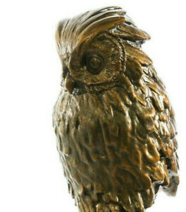 Owl Sculpture by Giambologna, Bird of Prey, Art, Gift, Ornament.