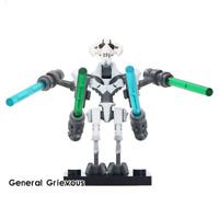 General Grievous - Star War 9 Mandalorian Baby Yoda Minifigures Lego MOC