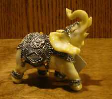 Resin Figurine from GSC #88054-B  IVORY LOOK ELEPHANT, NEW/Tag From Retail Store