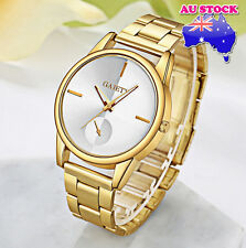 Wholesale Hot Luxury Classic Men's Stainless Steel Gold Plated Quartz Watch