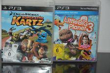 2 x PS3 Spiele - Super Star Kartz & Little Big Planet 3 - TOP