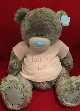 """Me to you ours tatty teddy x-large 24"""" rose love you lots t-shirt peluche cadeau"""