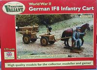 German IF8 Infantry Cart 2 Carri 2 cavalli figurini Valiant Miniatures Kits 1:72