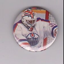 """Grant Fuhr Edmonton Oilers 2003 NHL Hall of Fame 2 1/4"""" Button"""