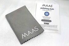 "Maas Polishing Cloth Microfiber Polish Silver Copper Metal Chrome 12"" x 12"" New"