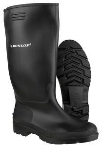 Dunlop Pricemaster Wellington Boots, Black, 380PP, Size 7