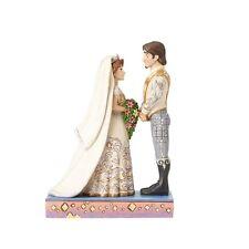 Disney Jim Shore Rapunzel & Flynn Wedding The Big Day Figurine #4056751