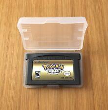 Custom Pokemon Shiny Gold Version -Nintendo Game Boy Advance GBA -US Seller!