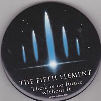 "VINTAGE 3"" PINBACK #28-048 - MOVIE - THE FIFTH ELEMENT"