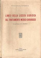 V. SPIEZIA-Limits of liceita 'Legal Medical, surgical treatment