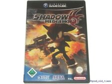 # Come Nuovo: SHADOW the Hedgehog (tedesco) Nintendo GameCube/GC gioco #