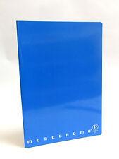 PIGNA - MONOCROMO - AZZURRO - QUADERNO A4 - RIGO C (RIGHE 10 mm CON MARGINE)