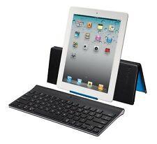 Logitech Tablet Tastatur für iPad 2 3 4 Bluetooth Tastatur Schweiz-Deutsch NEU