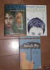 Summer 3 Books Umbrella Man Indigos Star Pendragon