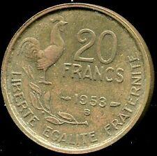 20 FRANCS GUIRAUD 1953 B