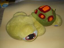 "Littlest Pet Shop Turtle Hasbro Stuffed Plush Animal 2005 Jumbo 20"" - Great $"