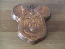 Rare Minnie Mouse Copper Mould Hanging Wall Art Kitchen Decoration