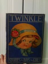 TWINKLE -STORIES FOR BOYS AND GIRLS 1925 BOOK