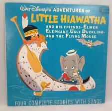 Walt Disney Little Hiawatha & Friends Elmer Elephant Ugly Duckling 33 rpm 1963