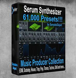 61,000+ xFer Serum Presets Pack - Cubase, Logic, FL Studio, Bitwig Ableton Sonar