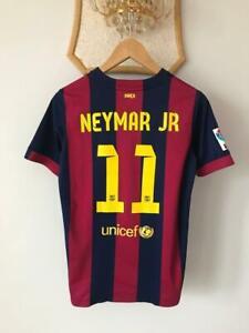 FC BARCELONA 2014 2015 HOME FOOTBALL SOCCER SHIRT JERSEY NIKE CAMISETA NEYMAR#11