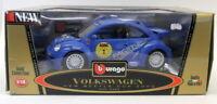 Burago 1/18 Scale Diecast 3389 Volkswagen New Beetle Cup 2000 Model Car