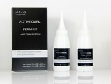 STRONG Hair Perming Curling Kit No.0:Perm Lotion + Neutraliser -Active Curl Wave
