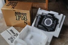 Nikon F4s camera body with batteries