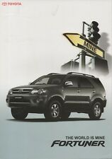 Toyota Fortuner SUV car (made in Indonesia) _2007 Prospekt / Brochure
