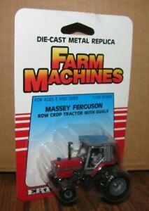 *1/64 Massey Ferguson MF 3070 Tractor w/ DUALS 1989 Ertl Farm Machines Toy #1176