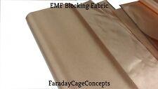 Antibacterial AntiVIRUS Copper-Nickel Conductive Fabric Cloth BTY (Yard)