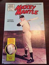 Magnum Comics 1st Issue Mickey Mantle Comic Book Dec 1991